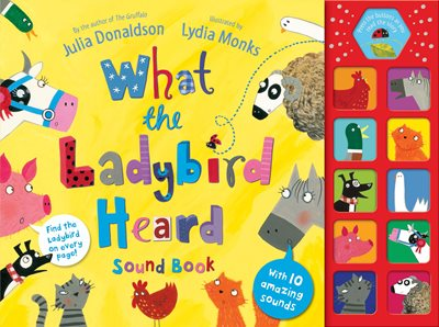 Book cover for What the Ladybird Heard Sound Book
